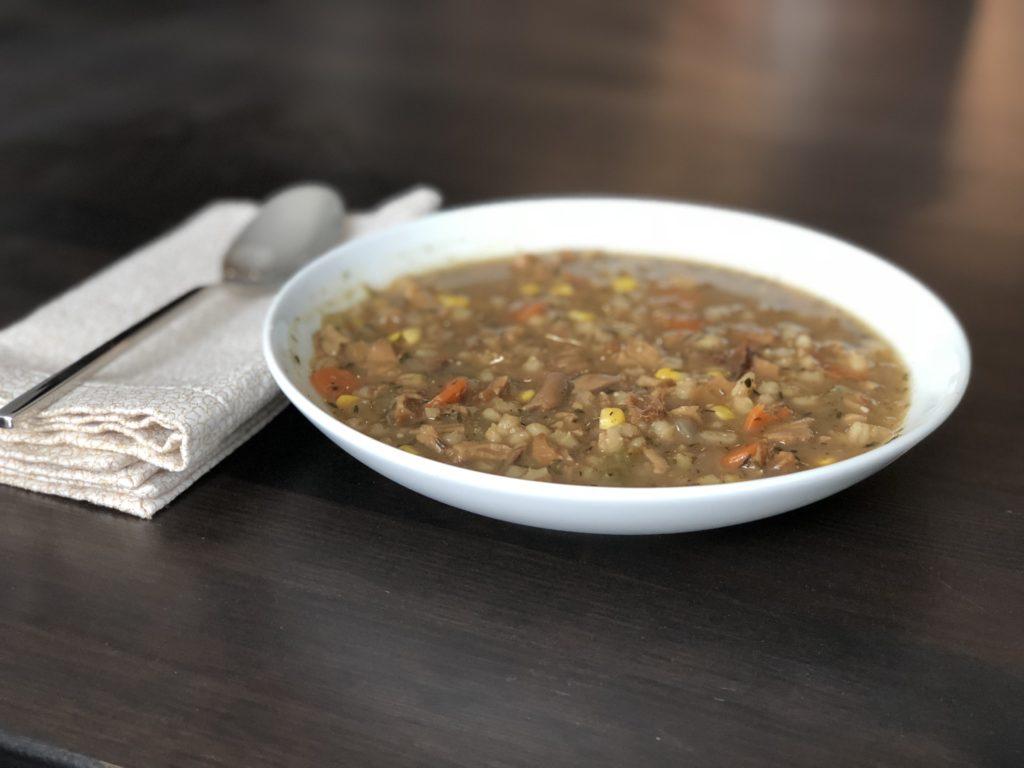 Maiitake Barley Soup