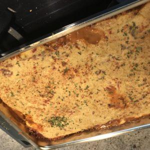 "Full on Veggie ""Lasagna"" with Turkish Flavors"
