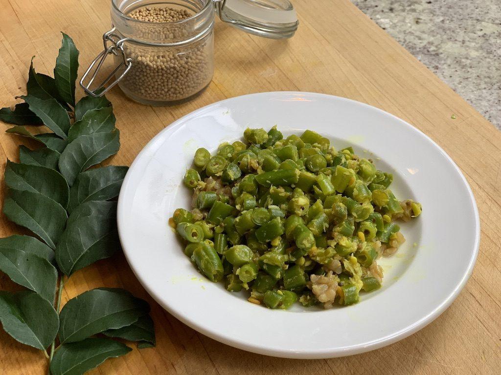 Green Beans Poriyal